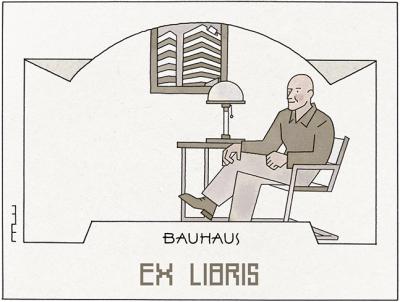 2 Ex libris Bauhaus
