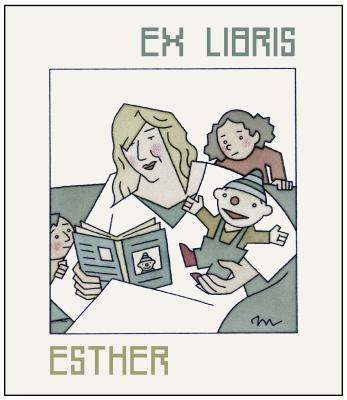 3 Ex libris Esther