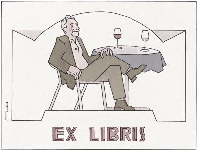 33 Ex libris La bon vie