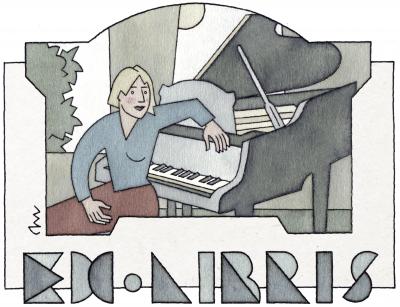 4 Ex libris Pianiste